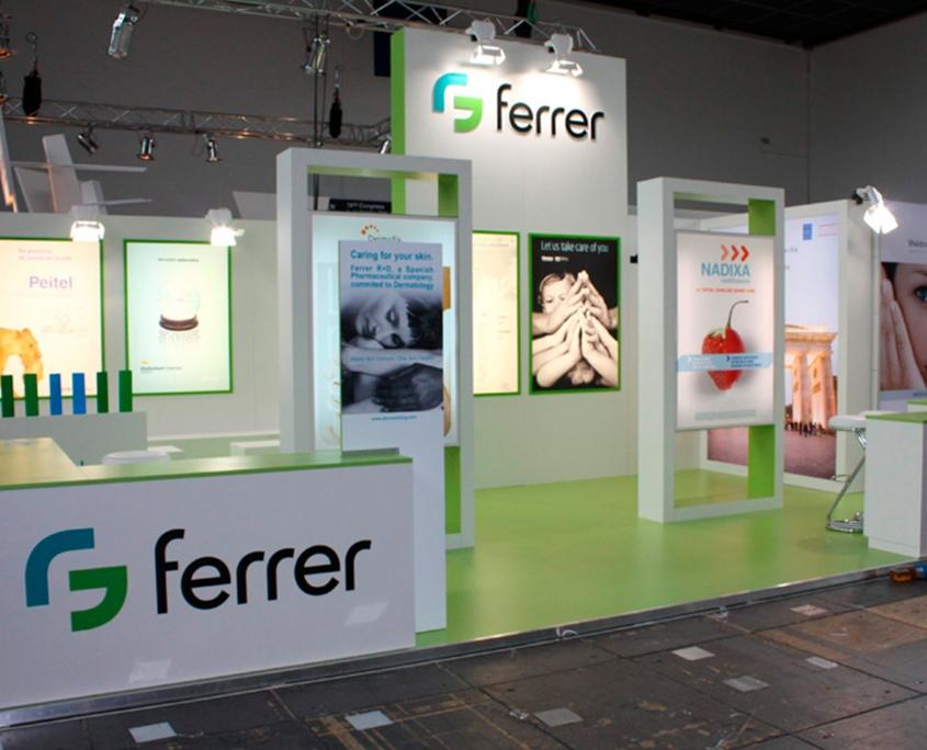 Ferrer Messestand, Messebau - Medica - Simply Plan