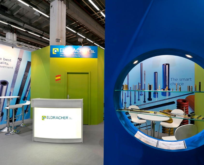 Eldracher - Messebau, Messestand Moulding Expo - Simply Plan