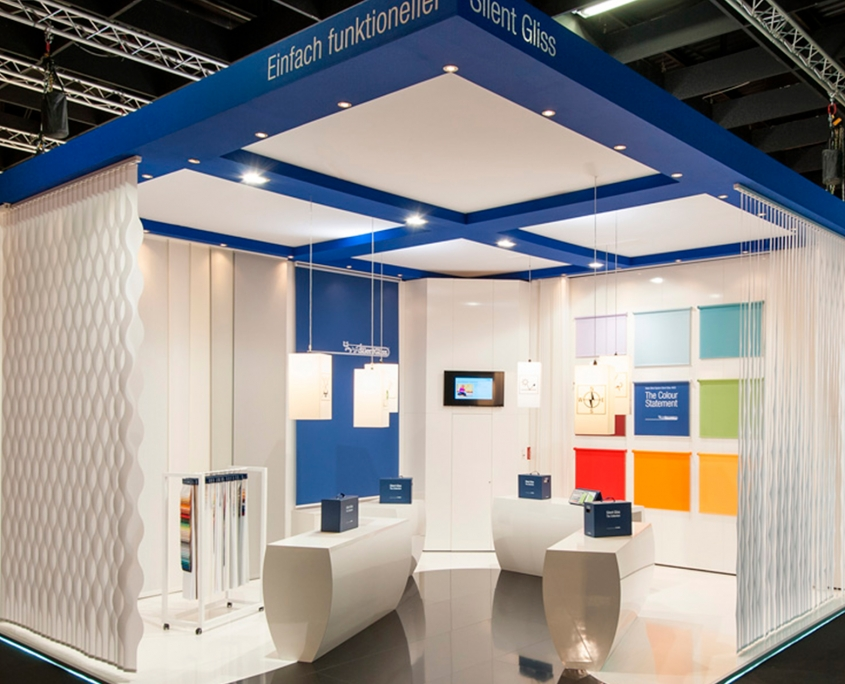 Silent Gliss - Messebau, Messestand, Interiordesign - Simply Plan