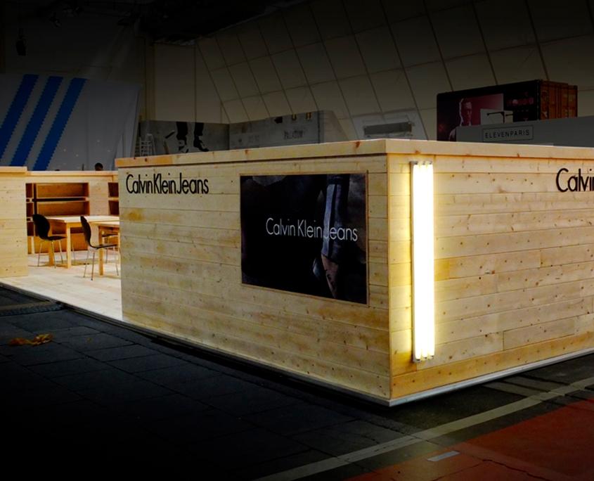 CALVIN KLEIN - Berlin Fashion Week Messe - Simply Plan